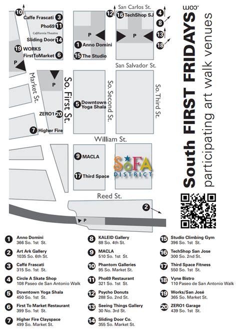 san jose jazz festival 2015 map the san jose south fridays tonight