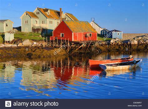 lobster boat wallpaper nova scotia peggy s cove canada fishing village with