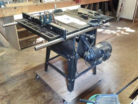 Ohio Forge Table Saw by Ohio Forge 10 Quot Proseries Table Saw Mounted On Base W
