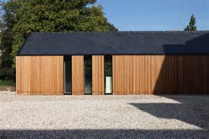 Cedar Timber Cladding Vertical Cladding With Slate Roof Lots Of Wood Small