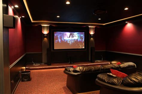 movie theater decor for the home home theater ideas for simple application homestylediary com