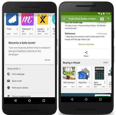 play store console play store beta tests app discovery improved play