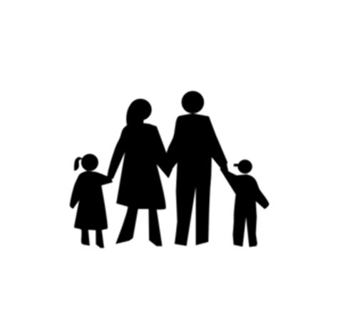 Family In Black Clip Art at Clker.com - vector clip art ... O Bubble Letters