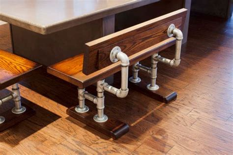 iron pipe bench 190 best pipe furniture images on pinterest pipe