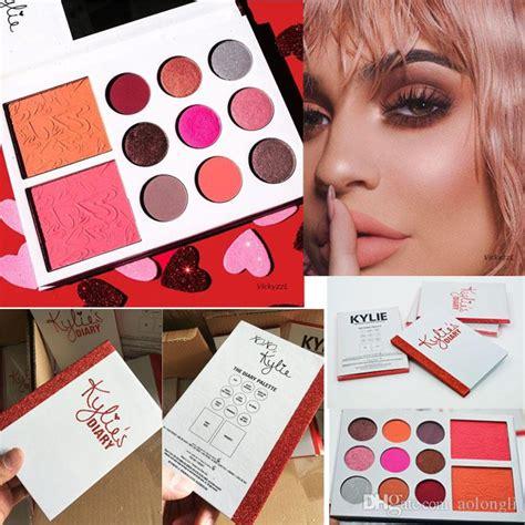 Kylies Diary Eyeshadow Blusher Palette s diary palette eyeshadow kyshadow 9