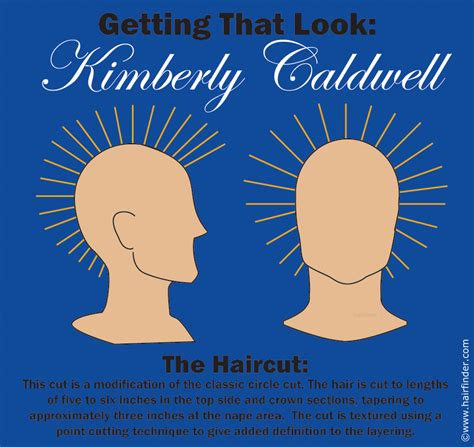 kimberly caldwell hair back view how to cut and imitate kimberly caldwell s short and