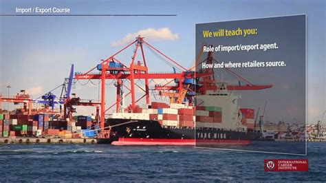 Distance Mba In Import Export by Import Export Course How To Become An Importer Learn