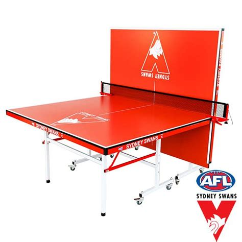 official table tennis table official afl sydney swans indoor table tennis table