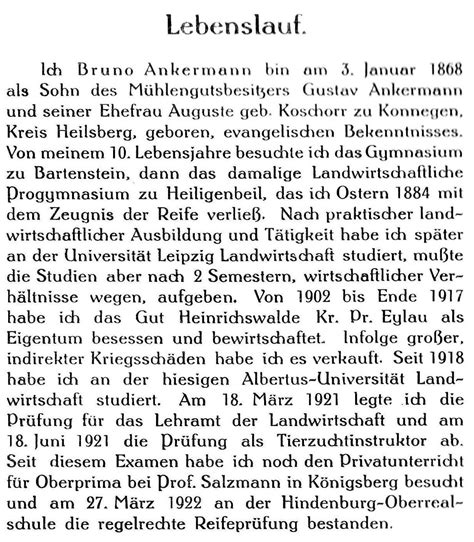 Lebenslauf Verstorbene Muster Horst Ankermann In K 246 Nigsberg Bilder News Infos Aus Dem Web