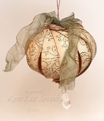 Paper Ornament Crafts - easy ornaments to make