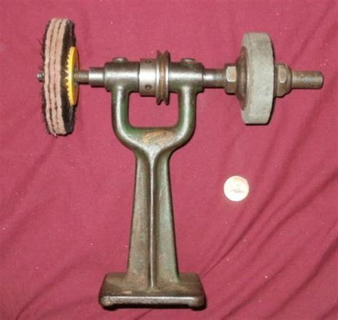 vintage bench grinder vintage small walker turner bench grinder belt drive nr