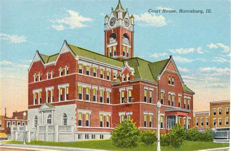 Saline County Illinois Court Records Postcards From Saline County Illinois
