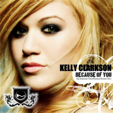 because of you kelly clarkson because of you lyrics video kelly clarkson breakaway
