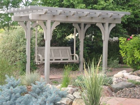 swing with pergola pergola swing plans woodworking projects plans