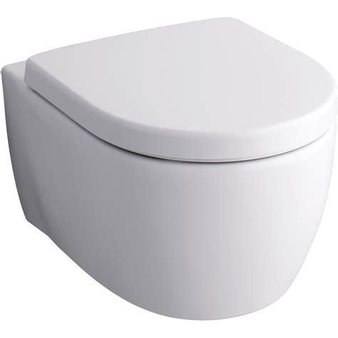 wand wc keramag wand wc icon sp 252 lrandlos mit wc sitz kaufen bei obi