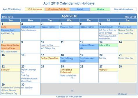 uk bank holidays april april 2018 calendar with holidays calendar template word