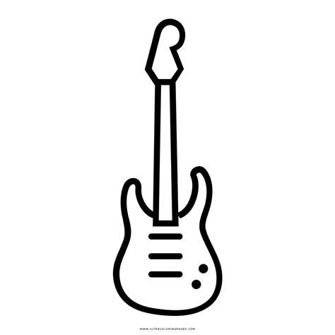 imagenes de guitarras rockeras para colorear dibujo de guitarra el 233 ctrica para colorear ultra