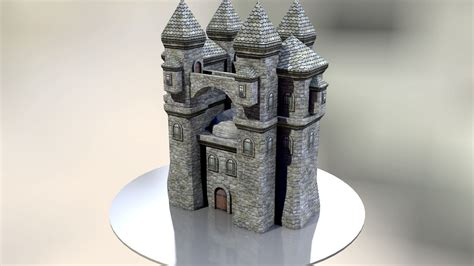 Papercraft Castle - papercraft castle