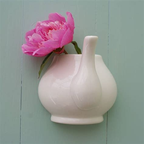 Wall Mounted Flower Vase by Wall Mountes Teapot Vase Single Flower Interior Design Ideas