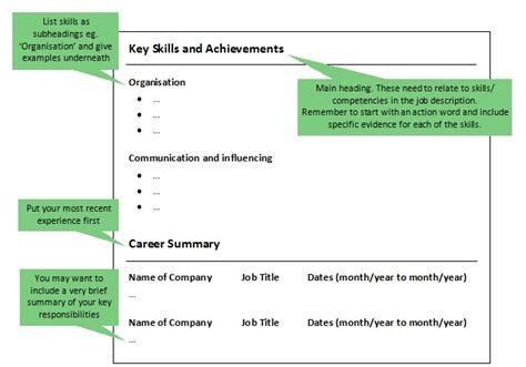 personal statement format lse alternative cv formats functional or skills based cvs