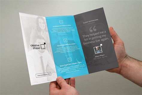 corporate trifold business brochure brochure templates