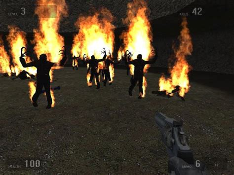 bomb fire fire bomb image exterminate mod for half life 2 mod db