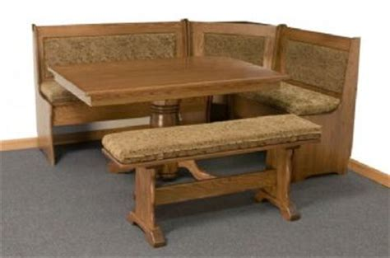 upholstered breakfast nook a j woodworking traditional breakfast nook w upholstered benches