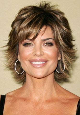 picture mens short heavily feathered hair 17 best ideas about lisa rinna on pinterest short shag