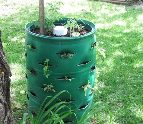 Garden Barrel Planter by Diy Barrel Planter 1 Home Design Garden Architecture