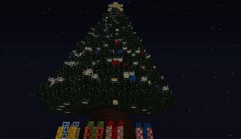 minecraft christmas tree map merry tree by urux pl minecraft project