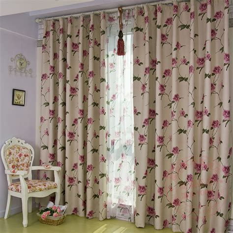 discount thermal curtains flower patterned blackout curtains curtain menzilperde net