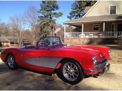 classic cars corvette 1957 chevrolet corvette for sale classiccars cc 988257
