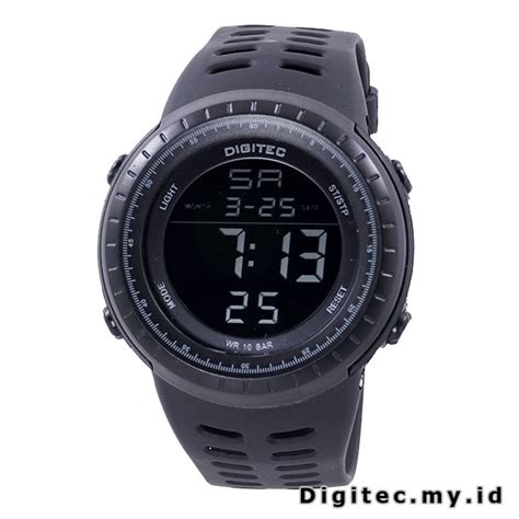 Digitec Digital Black Original digitec dg 3032t black jam tangan sport anti air murah