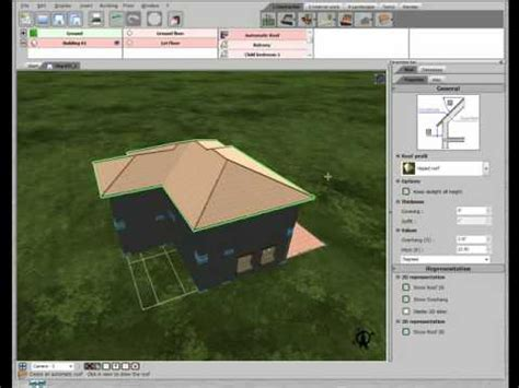 tutorial 3d home design by livecad 3d home design by livecad tutorials 15 roof youtube