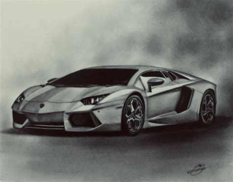 cars drawings car drawing artist models lamborghini