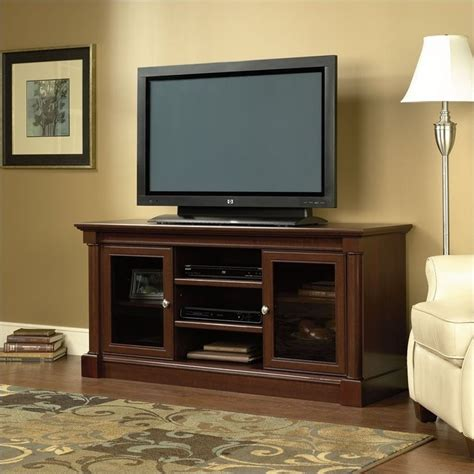 Costco Dining Room Sets full size tv stand in cherry 411865