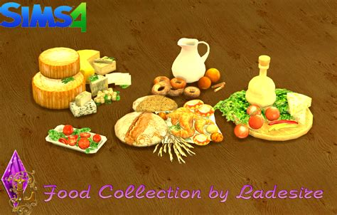 sims 4 food cc the sims 4 food collection by ladesire buy mode deco