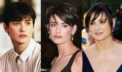 demi moore ghost hairstyle short celebrity hairstyles 2012 women hairstyles 2012