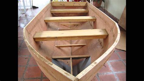 como construir un bote de madera bote hecho en casa y planos youtube