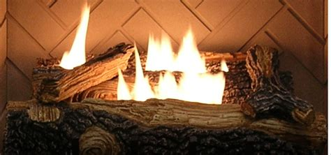 Desatech Fireplace by Sure Heat Indoor Gas Logs