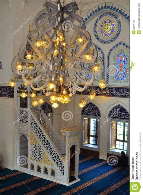Turkish Interior Design by Turkish Mosque Interior Design Stock Image Image Of