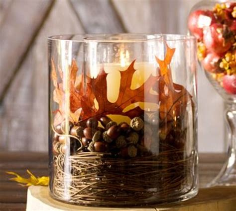 31 days of fall inspiration decorating for fall with acorns