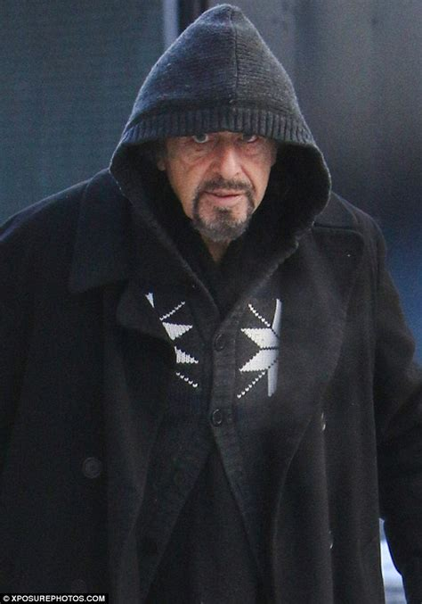 china doll al pacino al pacino heads to work on his broadway show china doll in