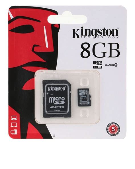 Mmc Memory Micro Sd Kingston 8 Gb buy kingston micro sd 8gb memory card in pakistan laptab