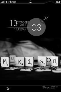 themes apple clock download mkison black clock iphone theme apple theme