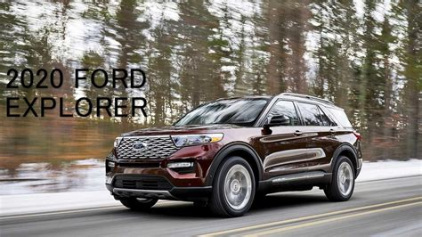 Ford Usa Explorer 2020 by 2020 Ford Explorer Rwd Vs 2019 Explorer Pictures