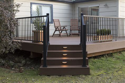 how to install deck lights on stairs how to install azek lighting fascia on deck installing