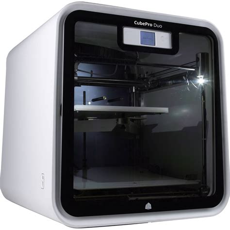 3d print 3d systems cubepro duo 3d printer 401734 b h photo