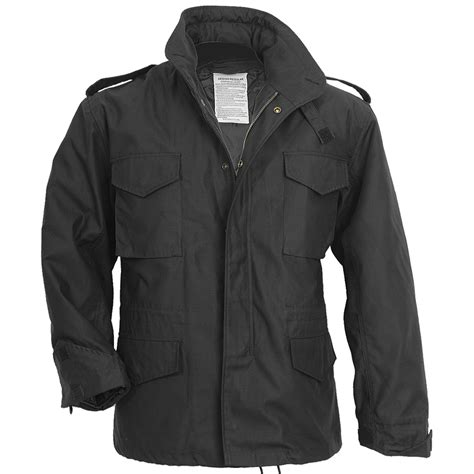 Jacket Black by Surplus M65 Jacket Black M65 1st