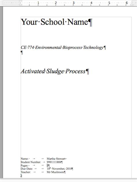 7 steps to formatting your school assignment just like